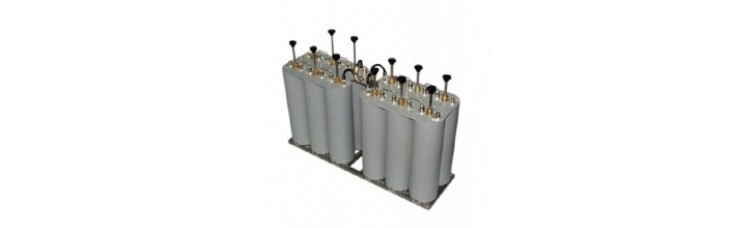 20001/3-S4 - 4x500W FM Star Point Combiner With Triple Cavity Filters