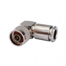 N Male Connector 90° (For RG213-RG214 Cable)
