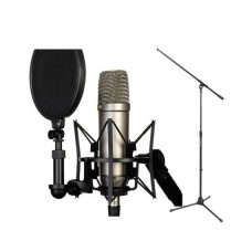 Rode NT1-A Cardioid Condenser Microphone Recording Package