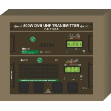 DUT500 - 500W DVB-T/T2 UHF Transmitter