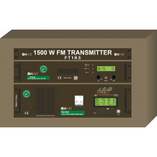 FT1K5 - 1500 W FM Digital Transmitter